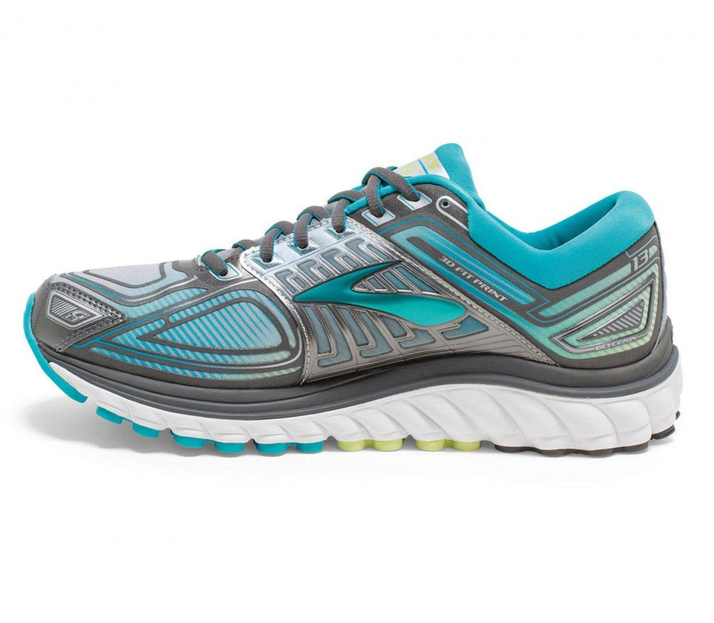 brooks glycerin 13 women 39 s running shoes light blue. Black Bedroom Furniture Sets. Home Design Ideas
