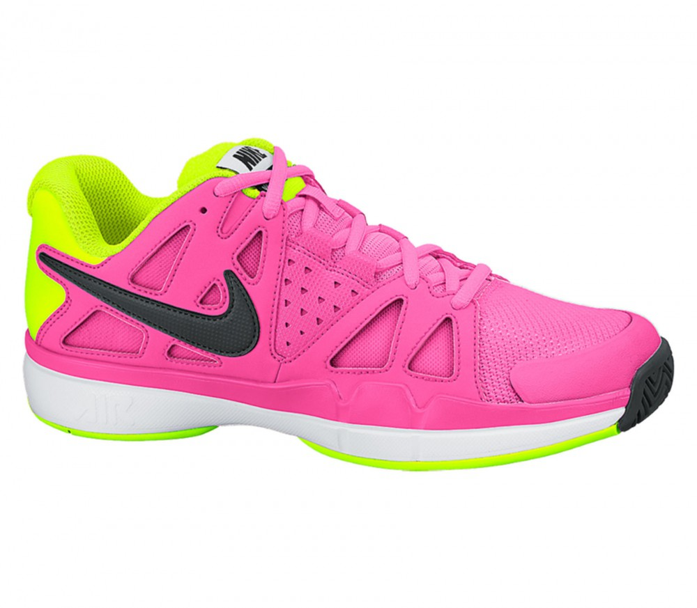 nike air vapor advantage s tennis shoes pink