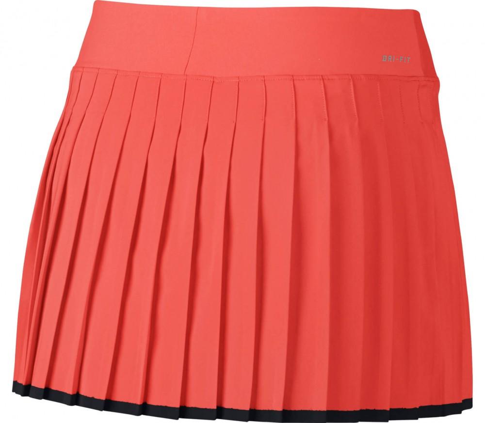 Nike - Victory women's tennis skirt (orange/black)