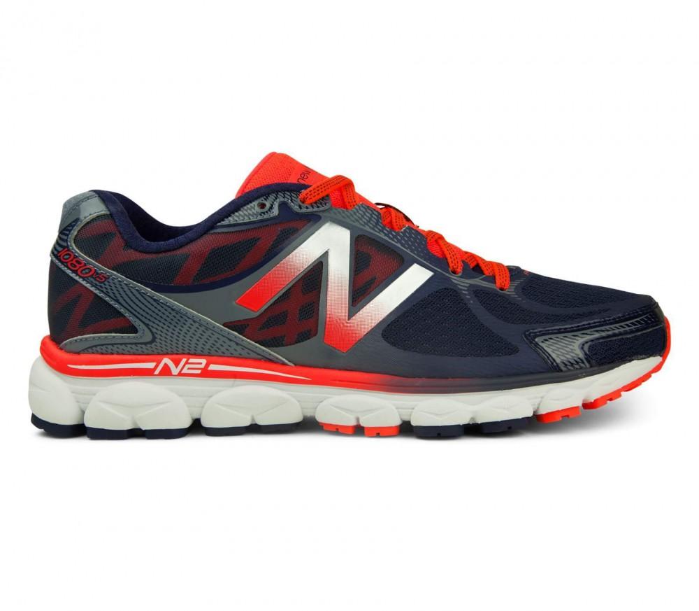 New Balance - 1080 V5 men's running shoes (orange/blue)