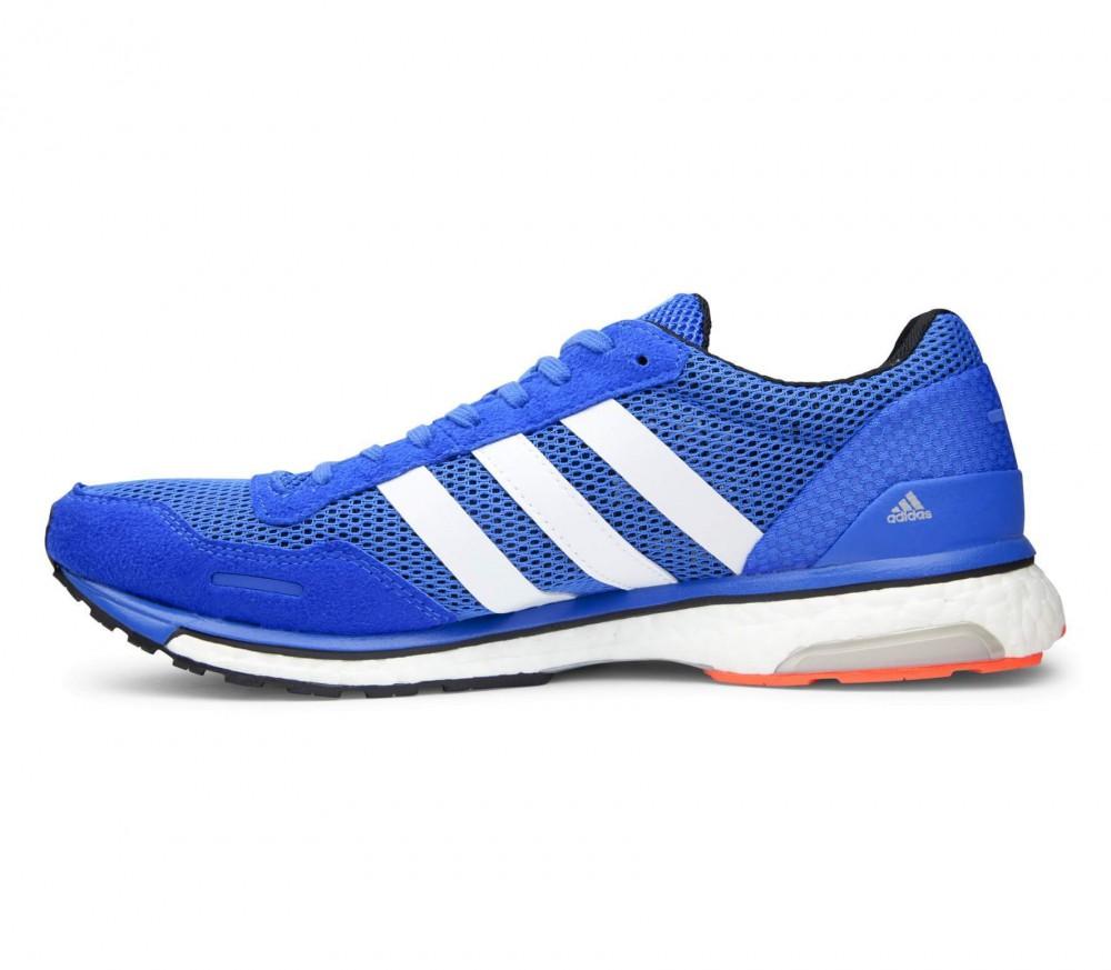 Adidas - Adizero Adios Boost 3 men's running shoes (blue/white)